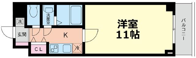 ■物件番号4491 茅ヶ崎駅2分!超駅近!32平米!広ーい11帖のオートロック完備マンション!6.7万円!