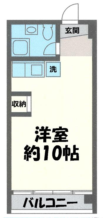 ■物件番号4527 海が見える!シーサイドパレス茅ヶ崎409号室!江の島が見えるお部屋!屋上やプール有り!