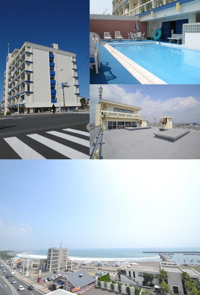 ■物件番号4926 海が見えるレトロリゾートマンション!プール付!格安6万円!1室限定!