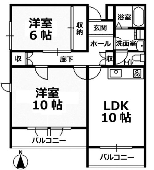 ■物件番号4556 ペット可!マンション!2LDK!犬もネコも可!室内リフォーム有り!都市ガス!7.4万円!