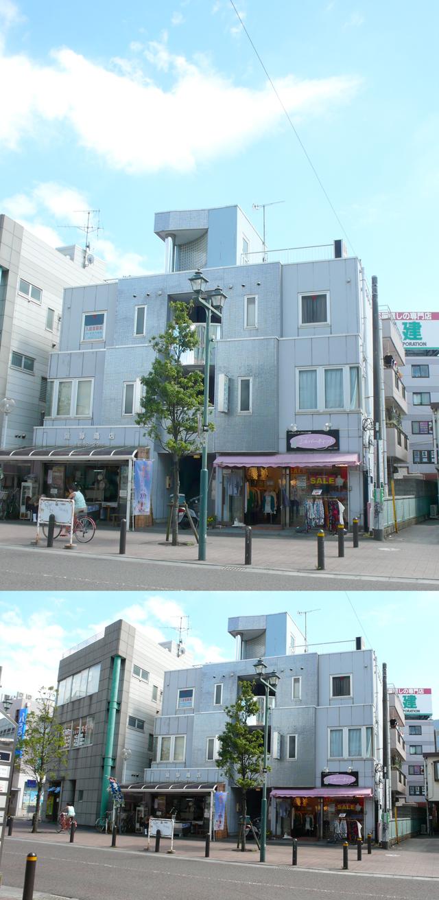 ■物件番号4607 超駅近2分!2DKマンション!格安7万円!最上階3階カド!都市ガス!BT別!