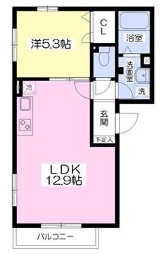 ■物件番号P4928 辻堂海側!ペット可!1LDK!カップル向け!3階カド部屋!敷金ゼロ!礼金ゼロ!7.6万円!!