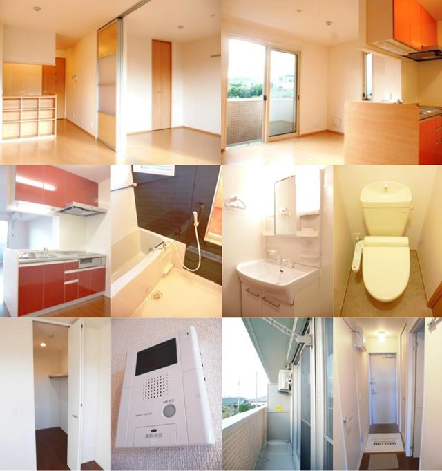 ■物件番号4644 お手頃2LDK!最上階3階!7.9万円!充実設備!追焚き!システムキッチン!