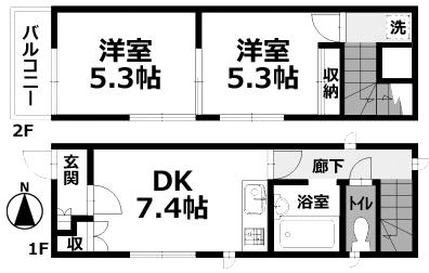 ■物件番号P4662 希少!ペットが飼える小さな築浅の一戸建て入荷!キレイ!8.2万円!海5分!西浜ビーチ!