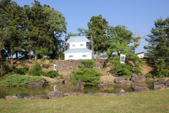 本丸の庭園