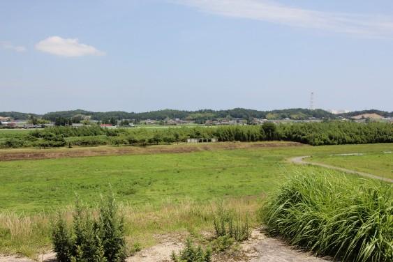 桜井古墳から眺望
