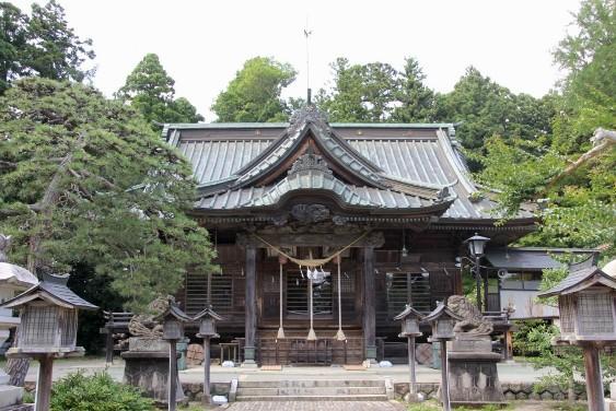 相馬小高神社拝殿