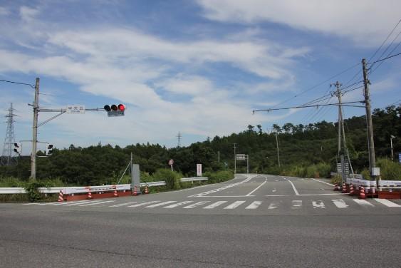 福島第一原発入口