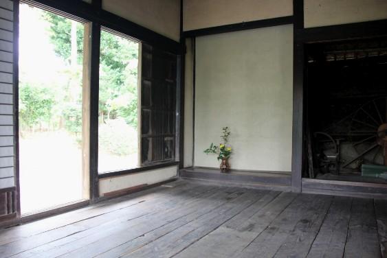 奥座敷の床の間