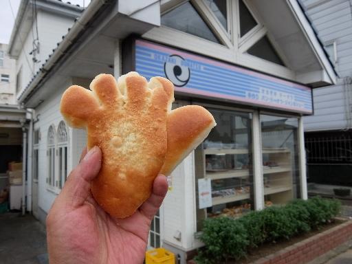 足型のパン