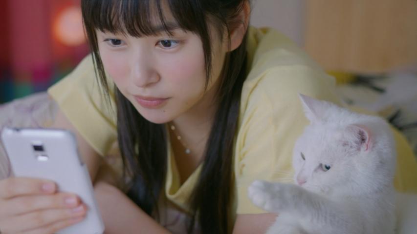 コロプラ 白猫プロジェクト「大学生篇」桜井日奈子