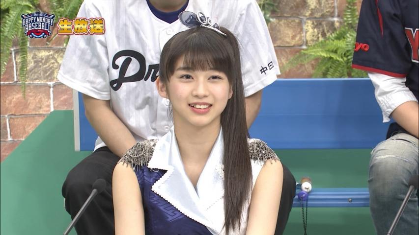 「HAPPY MONDAY BASEBALL」モーニング娘。'16 牧野真莉愛