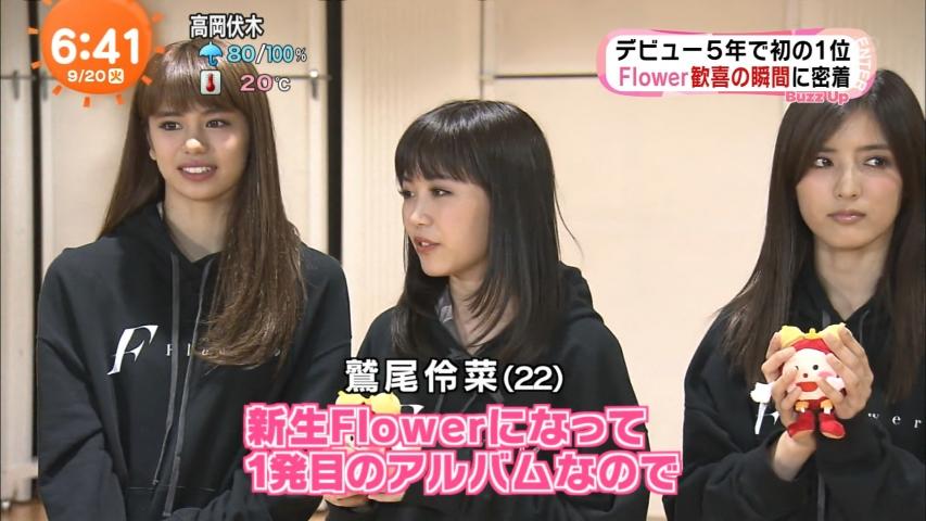 「めざましテレビ」Flower