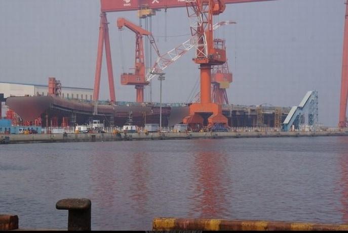 2016-9-17中国の建造中の空母