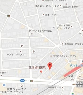 map東京都渋谷区大山町46の21