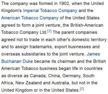 wikiBritish American Tobacco