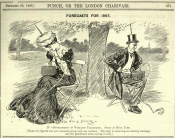 newsマスコミ、100年前にすでにガジェットによる社会崩壊を警告