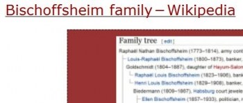 tenBischoffsheim family