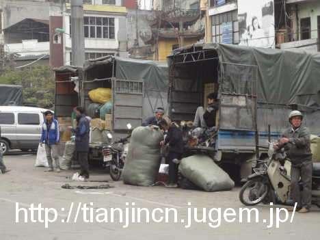 ハノイ Cho Dong Xuan ドンスアン市場3