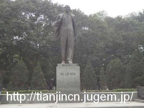 ハノイ レーニン公園のレーニン像1