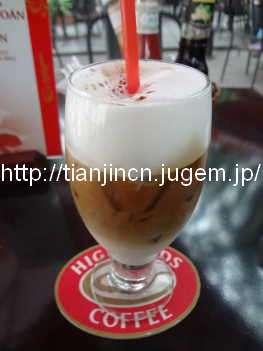 ハノイ High Lands Coffee 軍事歴史博物館店2