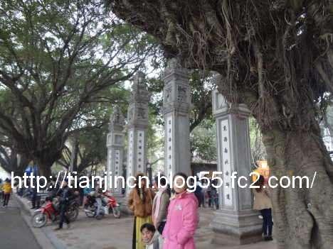 ハノイ 文廟 Van Mieu3