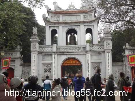ハノイ 文廟 Van Mieu4
