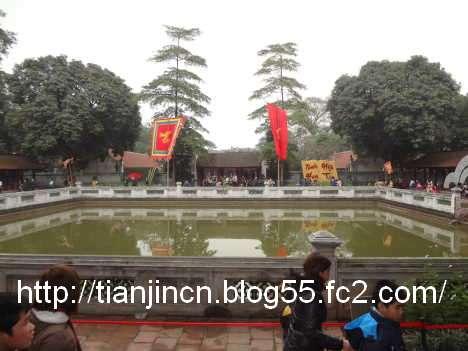 ハノイ 文廟 Van Mieu9