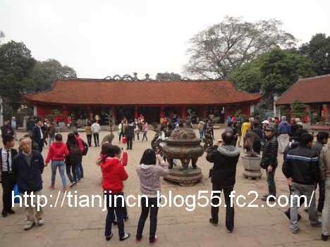 ハノイ 文廟 Van Mieu12
