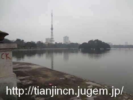ハノイ Cong Vien Thong Nhat 統一公園2