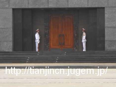 ハノイ ホーチミン(胡志明)廟2