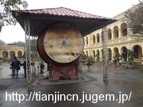 ハノイ城址 Nha trung bay Khao co@ハノイのタンロン皇城の中心区域(世界遺産)2