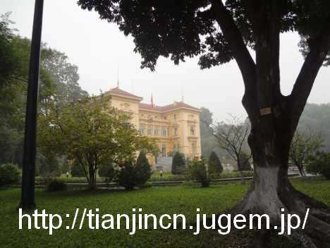 ハノイ ホーチミンの家(ホーおじさんの家) Nha San Bac Ho Chi Minh 胡志明主席故宮記念館2