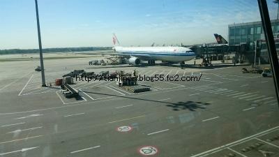 中国国際航空925便ビジネスクラスで北京から成田へ