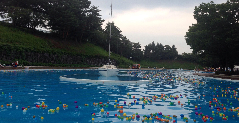 西武遊園地 流れるプール