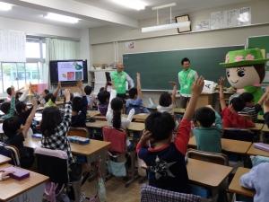 161013とだみちゃん出張授業①