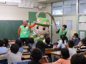 161013とだみちゃん出張授業②