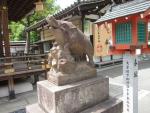 護王神社イノシシ