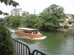 琵琶湖疏水の遊覧船