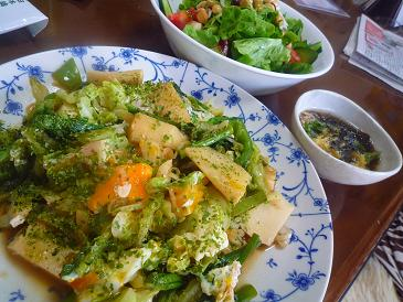筍と青野菜
