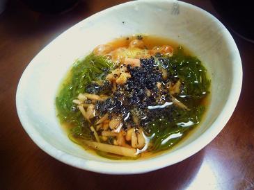 納豆メカブゴマ黒酢生姜