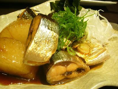 秋刀魚と大根その2