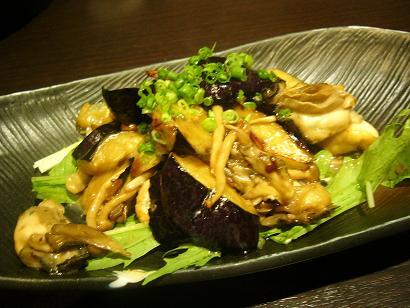 きのこ炒め (3)