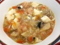 160621豆腐とえびの中華うま煮 (1)