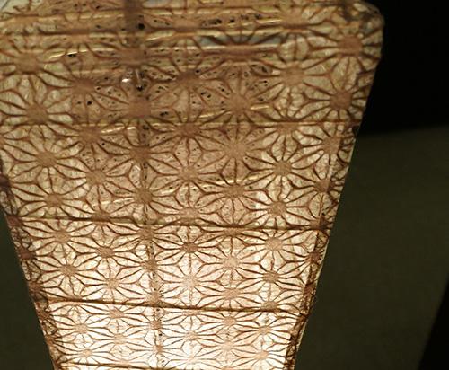 和紙ランプ1