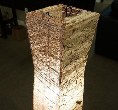 和紙ランプ3