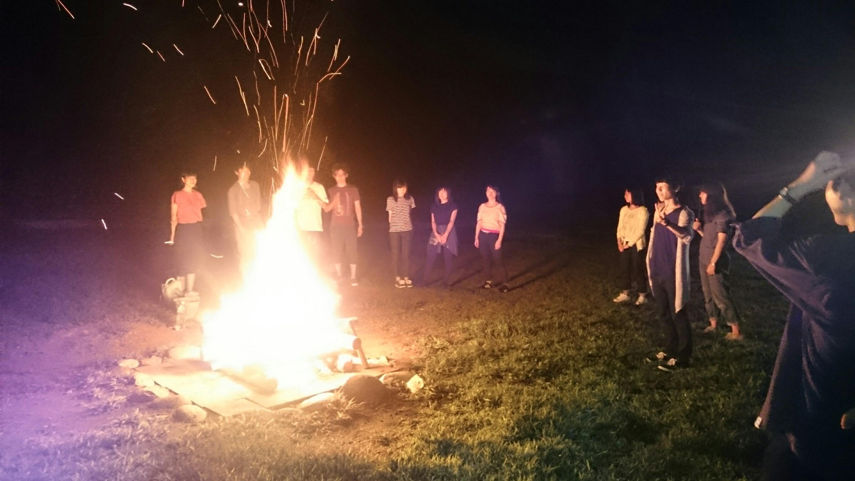 燃え上がれ、キャンプファイア!