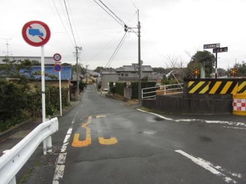 境宿新田京方入口