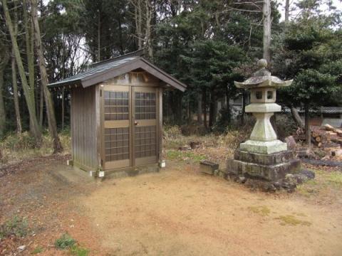 笠子神社秋葉山常夜灯