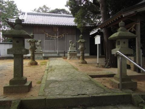 笠子神社社殿